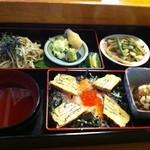 和可奈 - 料理写真:ランチ バラ寿司