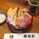寿司正 - 料理写真:寿司正の海鮮丼!