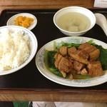 慶龍 - 豚肉角煮定食