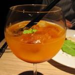 8G shinsaibashi - 夜)つぶつぶカシスオレンジ (つぶつぶオレンジ×カシス×ヒアルロン酸ゼリー)