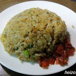 麺屋 空 - デラックスセットの半チャーハン