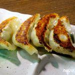 麺屋 空 - デラックスセットの餃子