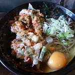 立ち食いそば日野屋 - 料理写真:かき揚げ卵うどん