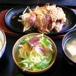 18976916 - サーロインステーキ定食