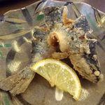 18978028 - 山女魚唐揚;からりと揚がった身の甘さが際立つ (^^)v  @2013/05/15