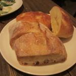 ラシーヌ - じゃが芋のチーズパン、リュスティック