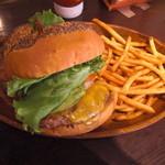 18979986 - アボカドチーズバーガー チェダーチーズチョイス