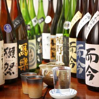 日本酒好きな方必見!60種以上の日本酒ALL500円