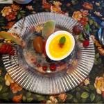アンフルール - デザート。フランボワーズ オレンジのロワイヤル