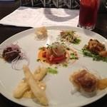 ラターナ - 料理写真:前菜の盛り合わせ!