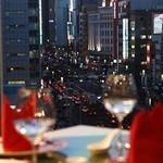中国膳房 黎花 - 銀座の絶景を一望できます♪