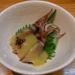 裕寿司 - 蛍烏賊の酢味噌和え コレはフツーに美味しい☆