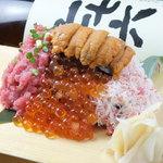 魚八商店 - 【のっけ寿司 2013ver】1,280円