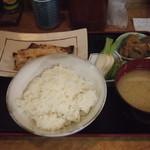 味処 はつくら - 赤魚粕漬焼き 750円