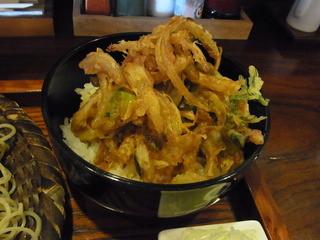 ふくや - かき揚げ丼(150円)