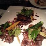 18986201 - お肉料理♥上のお野菜も美味しいー♡