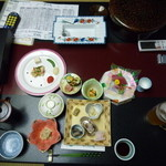 小谷の湯 - 料理写真:夕食1
