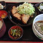 18987263 - 豚ロース香味炊き定食