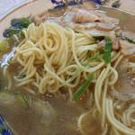 ラーメン藤 - 矢橋ラーメンの麺