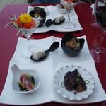 洋風家庭料理 ふらいぱん - セット(3500円)の前菜