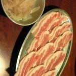 焼肉天下 - 焼きシャブ豚カルビ(期間限定)