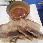コアダン - スーチカ(豚肉の塩漬け)