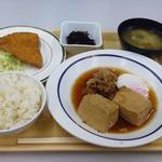 東京大学消費生活協同組合 医科研店 - 白金定食(S) 520円