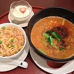 チャイニーズレストラン 璃音 - 料理写真:坦々麺セット