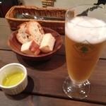 ピグローネ - ビール(¥500)