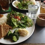 サロカフェ - きこりプレート