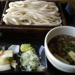 雅 - 料理写真:肉汁うどん(580円)