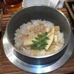 芦屋 串の助 - たけのこの釜飯