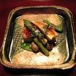 菜懐石 仙 - 蕗の薹の擬制豆腐