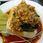 九寨興 - 料理写真:ピータン豆腐