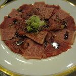 肉料理 阿蘇 - 焼肉一人前950円(写真は二人前)