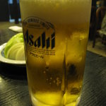 肉料理 阿蘇 - 生ビール530円
