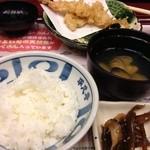 平八亭 - 最後にご飯とお味噌汁。。。