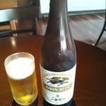 鎌倉 雪ノ茶屋 - ビールは一番搾り