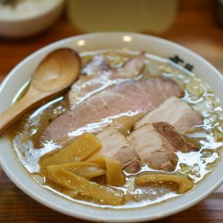 麺 高はし - 料理写真:半ちゃあしゅう麺ミックス肉 (半ミックス)