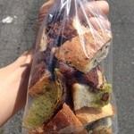 さちパン工房  - カット売りパンの詰合せ(100円)