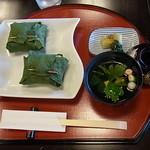 なが蔵 - 共水うなぎの笹寿司定食
