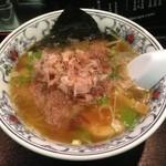 にぼらや - 煮干しラーメン 小ぶりちゃん!(2012年12月)