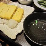 紅れや - 明石焼き風卵焼き(\580-)