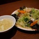 長城 - スープもつきます