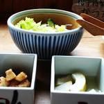 櫻守 - サラダ、煮物、漬物などの箸休め