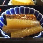 19010273 - 【八寸】お魚の煮つけ・出汁巻き卵