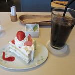 和cafe こころね - ケーキセット