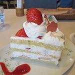 和cafe こころね - ショートケーキ