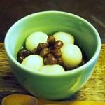 茶房 糸屋 - 料理写真:白玉ぜんざい