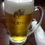 口福飯店 - 生ビール